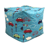 Cars, Boys Bean Cube - Blue