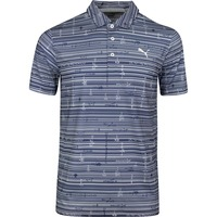 PUMA Golf Shirt - Optimized Variables Bryson Polo - LE Navy 2020