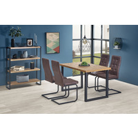 Honour 126-206cm Oak Extending Table