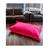 Large Pink, Water Resistant Bean Bag Lounger
