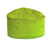 Large, Shaped Water Resistant, Outdoor Bean Bag - Green