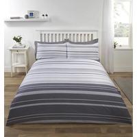 Grey Stripe Duvet Covers - Stratford