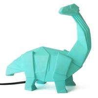 Dinosaur Lamp Green Origami Diplodocus