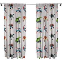Marvel Avengers Curtains - Grey