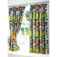 Animal Jungle Jigsaw Curtains