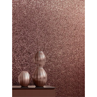 Catherine Lansfield Rose Gold Sparkly Wallpaper
