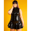Latex Rubber Glamazon Dress - Plus Size