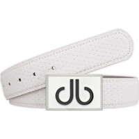 Druh Golf Belt - Players Square Leather - White 2017