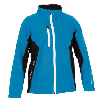 Galvin Green Junior Richie Paclite Waterproof Golf Jacket Blue