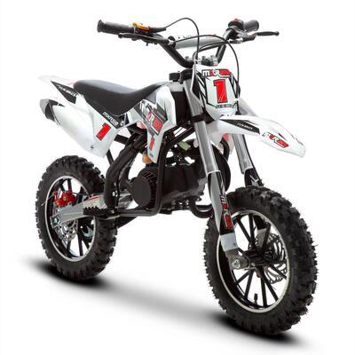 FunBikes MXR 50cc 61cm Black Kids Mini Dirt Bike