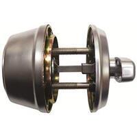 TESA 516 Deadbolt and Turn - Brass (PB)