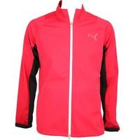 Puma Rain Waterproof Golf Jacket Tango Red AW15