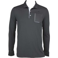 Puma LUX LS Golf Shirt Black AW15