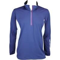 Galvin Green Brad Windstopper Golf Jacket Midnight Blue-White