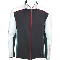 Galvin Green David Insula Golf Jacket Black-Racing Green AW15
