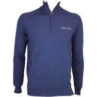 Galvin Green Charles Tour Golf Jumper Midnight Blue AW15