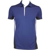 Galvin Green Maddox Ventil8 Golf Shirt Midnight-Black AW15