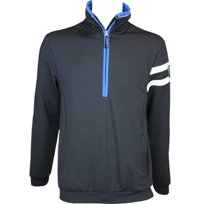 Cherv242 Parussola Wind Lock Golf Jumper Black AW15