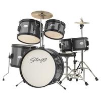 Stagg Black 5 Piece Junior Drum Kit