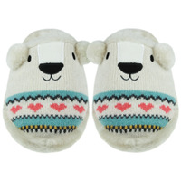 aroma-home-sparkly-knitted-polar-bear-slippers