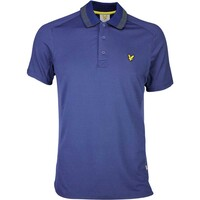 Lyle & Scott Golf Shirt – Ayton Tech Navy SS16