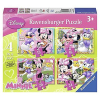 Ravensburger Minnie Mouse Puzzles [4 In a Box]