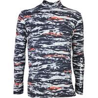 Chervò Golf Base Layer Shirt - TUTTOK Black Camo SS16