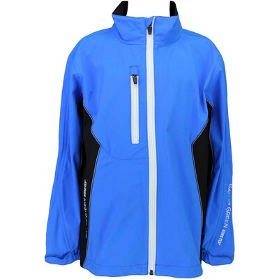 Galvin Green Junior Waterproof Golf Jacket - Richie Blue