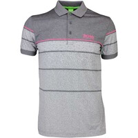 Hugo Boss Golf Shirt – Paddy Pro 2 Medium Grey PF16