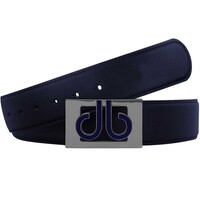 Druh Golf Belt - 3D Players Tour Leather - Navy 2017