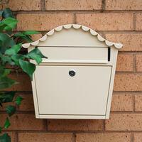London Buttermilk Letterbox - non personalised version