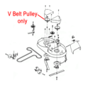 Click to view product details and reviews for Dr Replacement Pulley V Belt 6 Dr151711.