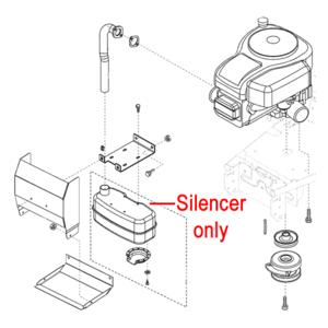 Al Ko Exhaust Silencer Ak46444510