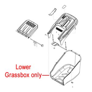 Al Ko Lawnmower Grassbag Lower Box 46381601