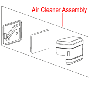 Al Ko 140 Engine Air Cleaner Assembly 411935