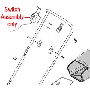 Al Ko Aerator Scarifier Switch Assembly 463034