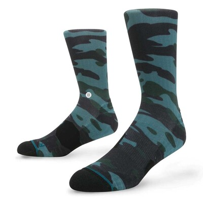 Stance Golf Socks Bubba Camo Crew Green 2017
