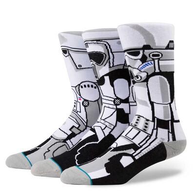 Stance Star Wars Socks Trooper Triplet Set 2017