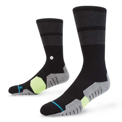 Stance Golf Socks 8 Iron Crew Black 2017