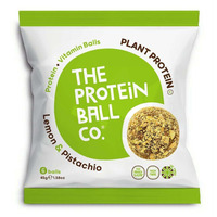 The Protein Ball Company Lemon & Pistachio Balls 45g - Pack of 10
