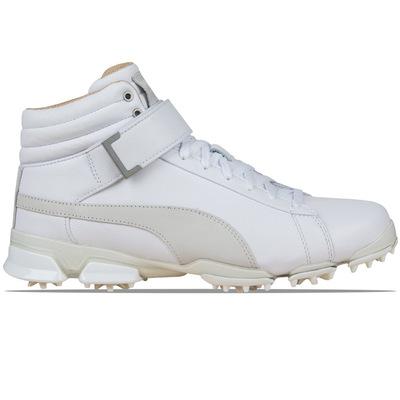 Puma Golf Shoes - TitanTour Ignite Hi-Top LE - White - Quarry 2017