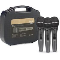 Dynamic Microphone and Cable Set 3 Pieces