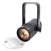 Event Spot Triac Warm White LED Pinspot - Black