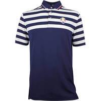 RLX Ryder Cup Golf Shirt - YD Stripe Tech Pique - Team USA 2018