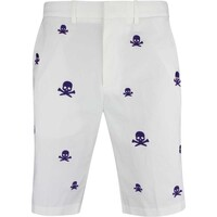 G/FORE Golf Shorts - Killer T's Tech Chino - Snow AW18