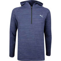 PUMA Golf Pullover - Range Days Hoodie - Peacoat LE SS19