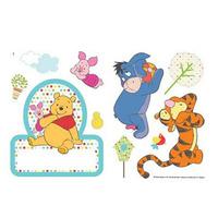 Winnie The Pooh Door Room Stickers