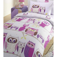 Hoot Owl, Kids Single Bedding Sets