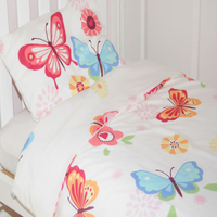 Butterflies Toddler Bedding