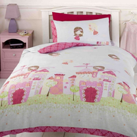 Fairy Castle Toddler Duvet Set